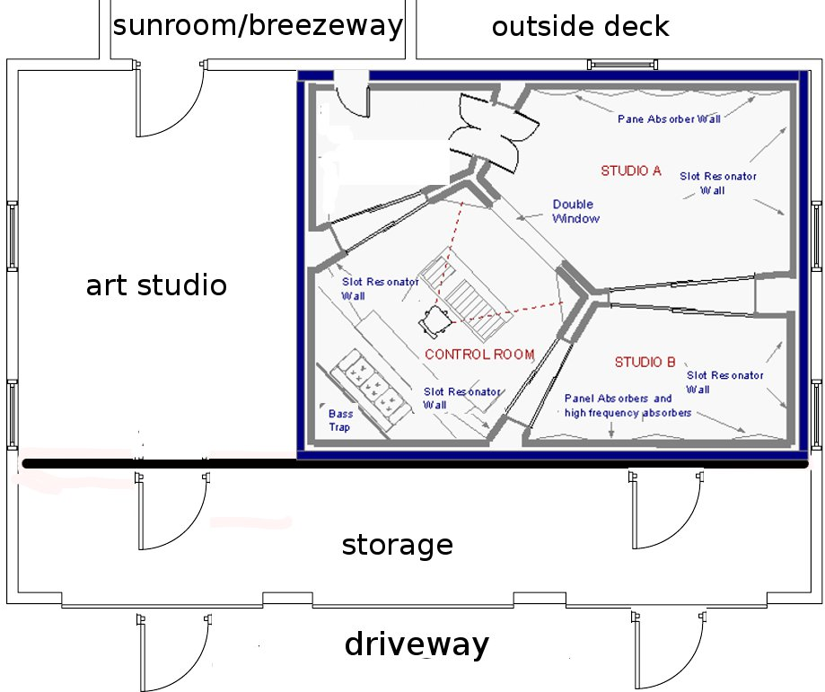 Fabulous John Sayers Recording Studio Design Forum View Topic Detached Largest Home Design Picture Inspirations Pitcheantrous