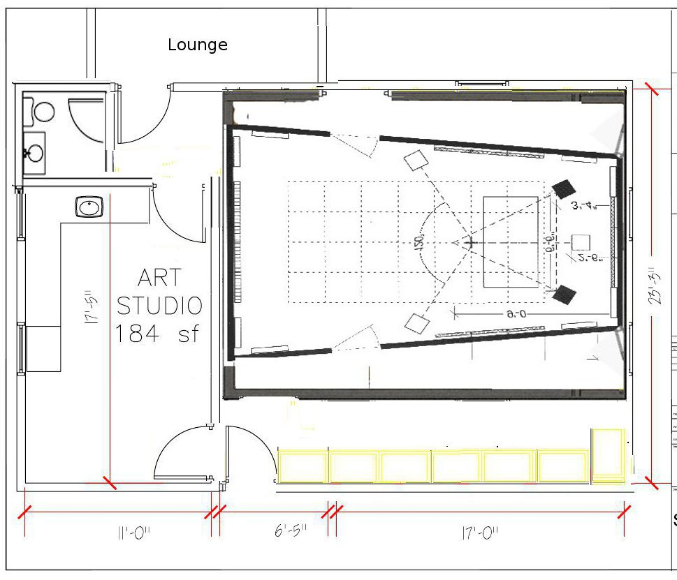 Detached garage studio conversion musicplayer forums Garage with studio plans